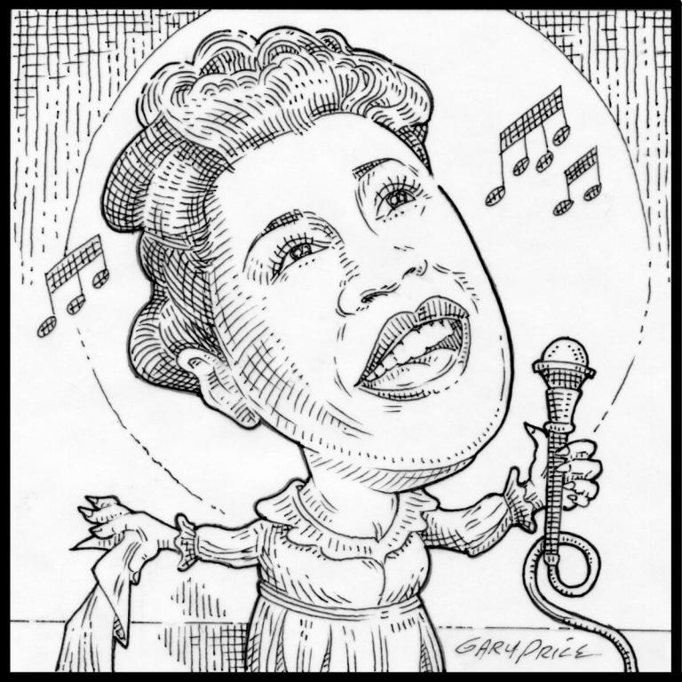 Ella Fitzgerald by Gary Price