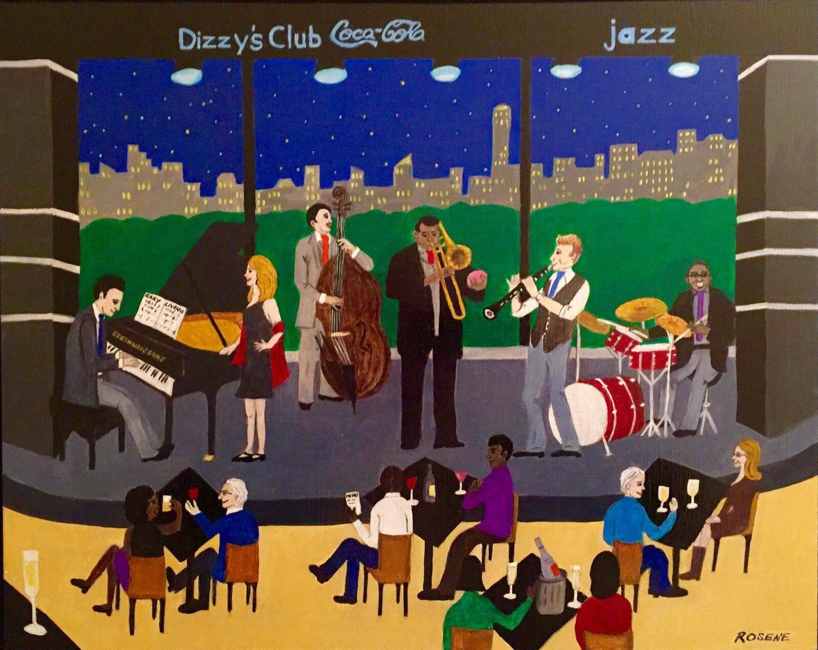 Dizzy's Club Coca-Cola by Barbara Rosene