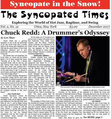 Syncopated Times 2017 12 December pg.1 - Past Issues