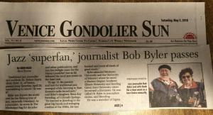 Bob Byler, Traditional Jazz Journalist & Videographer, has Passed.