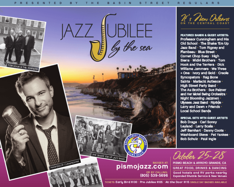 Jazz Jubilee By The Sea line up additions