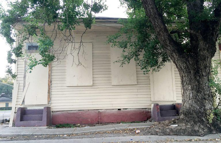 Buddy Bolden's home in 2016