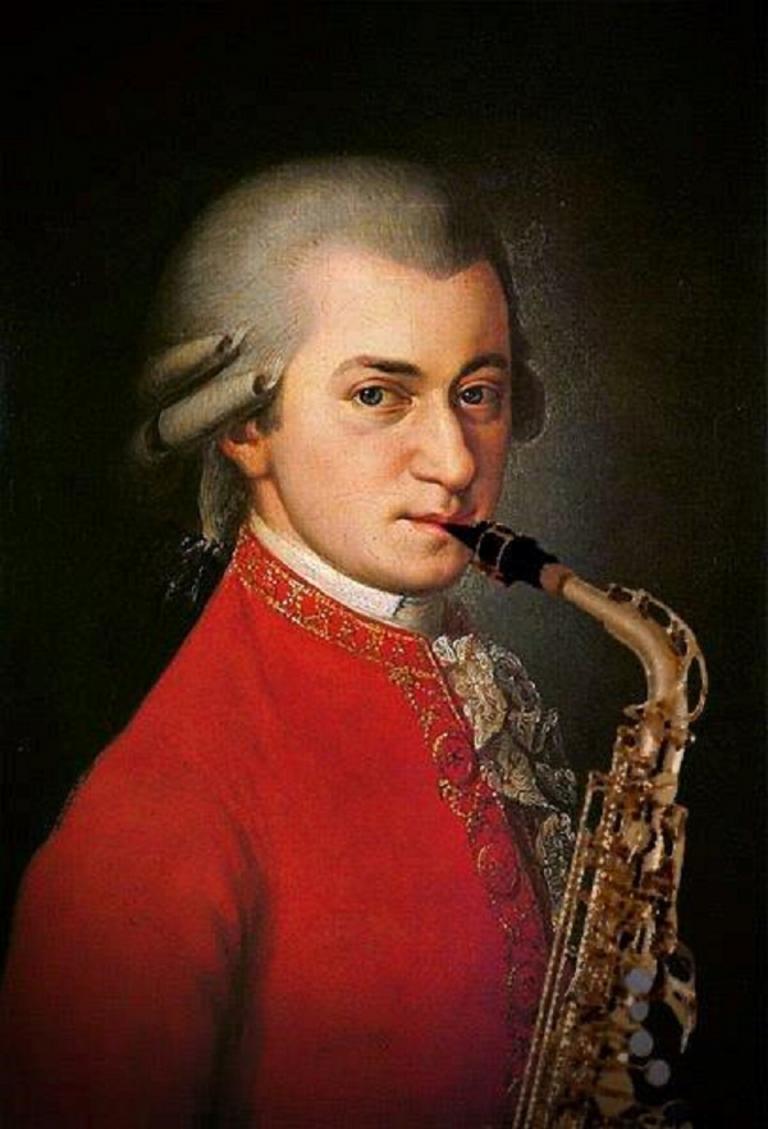 Mozart-Sax