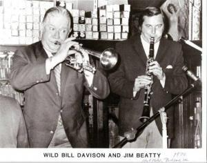 Jim Beatty, Jazz Clarinetist and Author has died at 84.