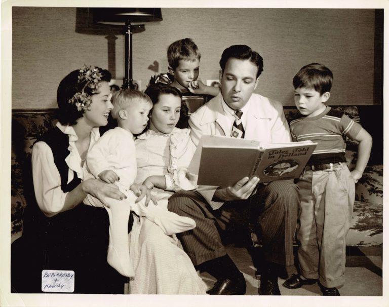 Bob Crosby and Family