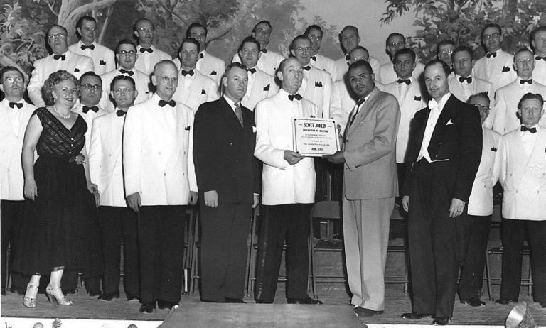 1951 PLAQUE PRESENTATION
