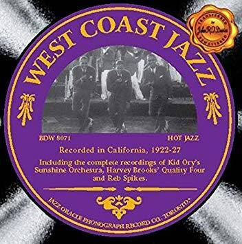 West Coast Jazz 1922-27