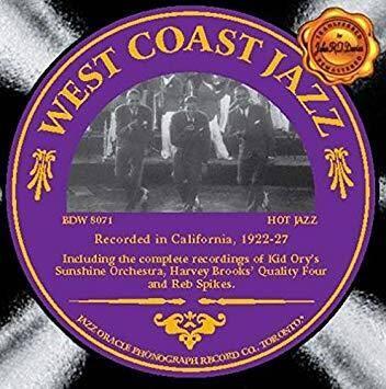West Coast Jazz 1922-27