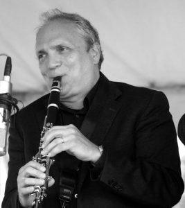 Ken Peplowski John Herr photo Fred McIntoshs Jazz Party Aug 17 2014
