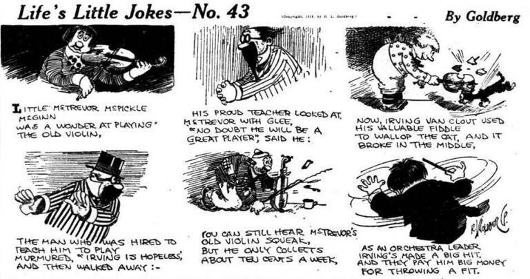 Lifes Little Jokes R Goldberg 1919 crop
