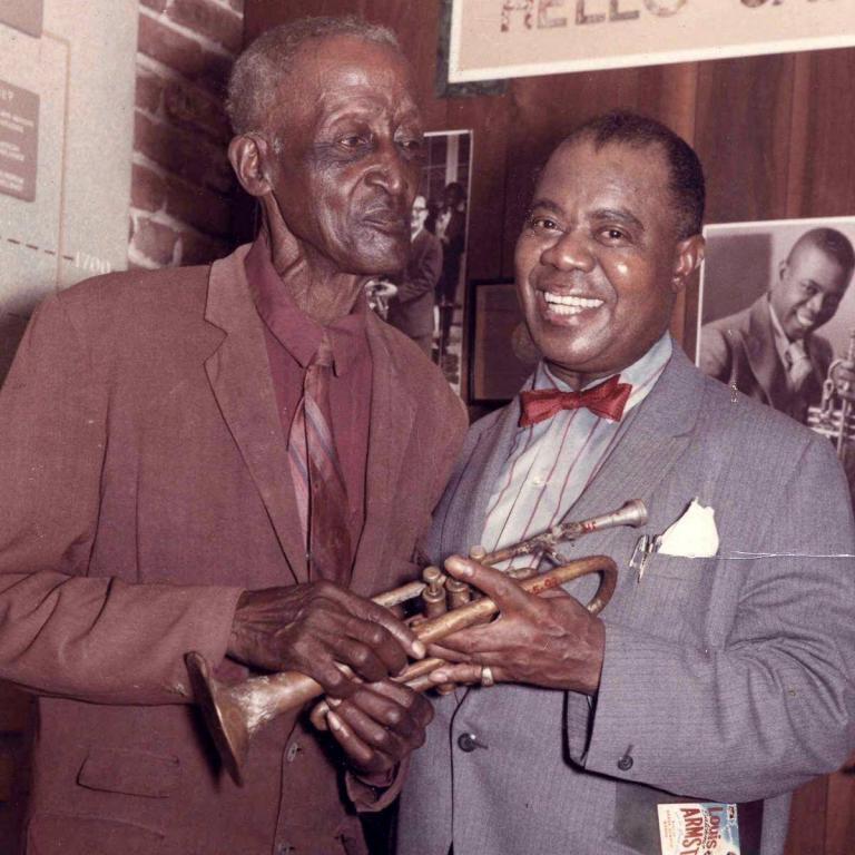 Louis Armstrong Peter Davis