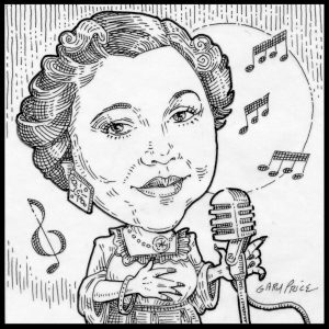 Mildred Bailey by ArtistGaryPrice.com