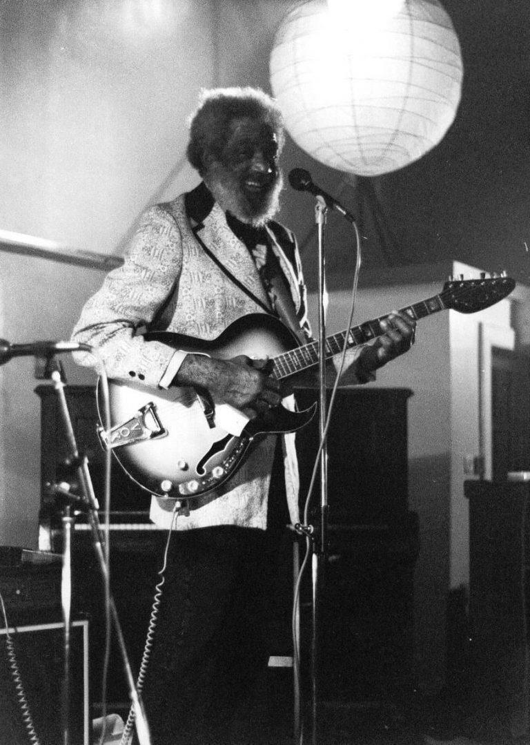 Slim Gaillard at the Queens Hall, Edinburgh 1982