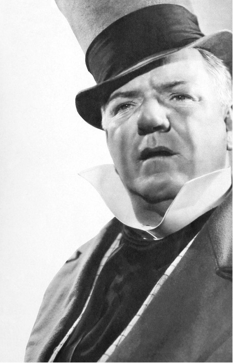 W. C. Fields in his famous role as Mr. Micwaber. Public Domain