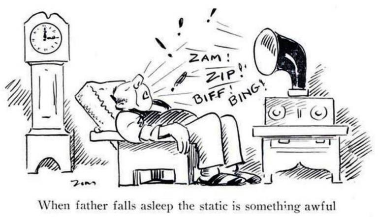 Zim Radio cartoon