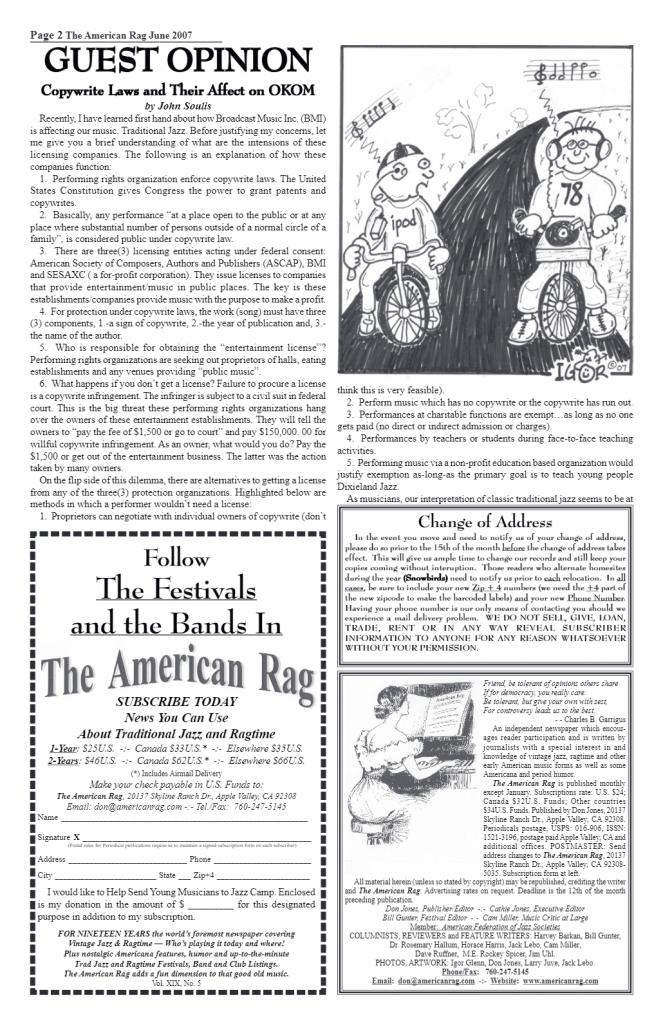 The American Rag June 20017