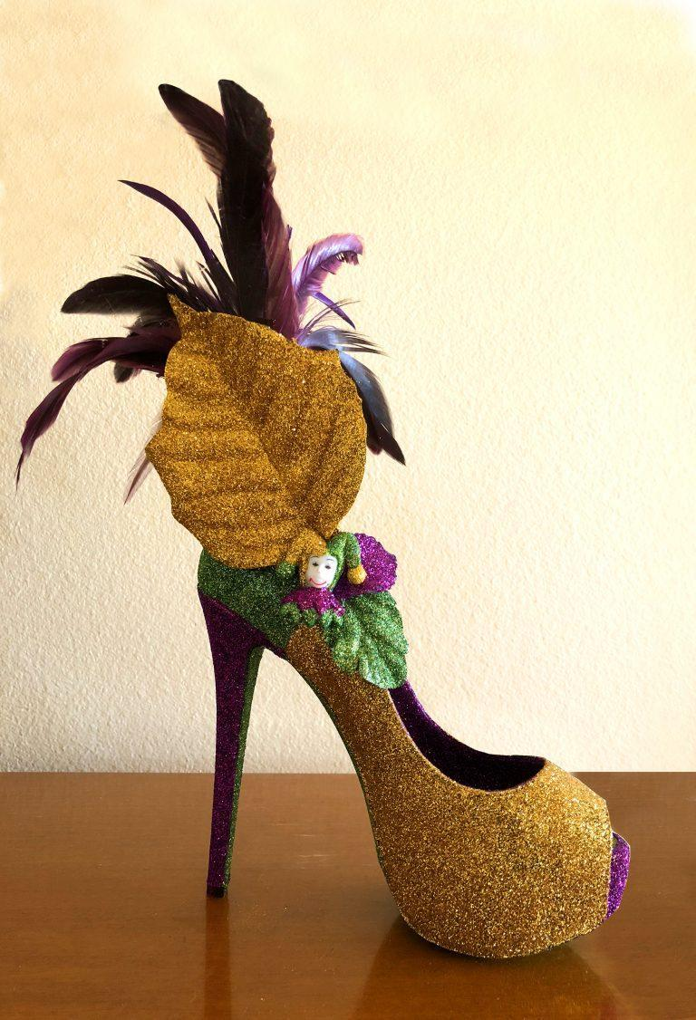 Krewe of Muses Shoe