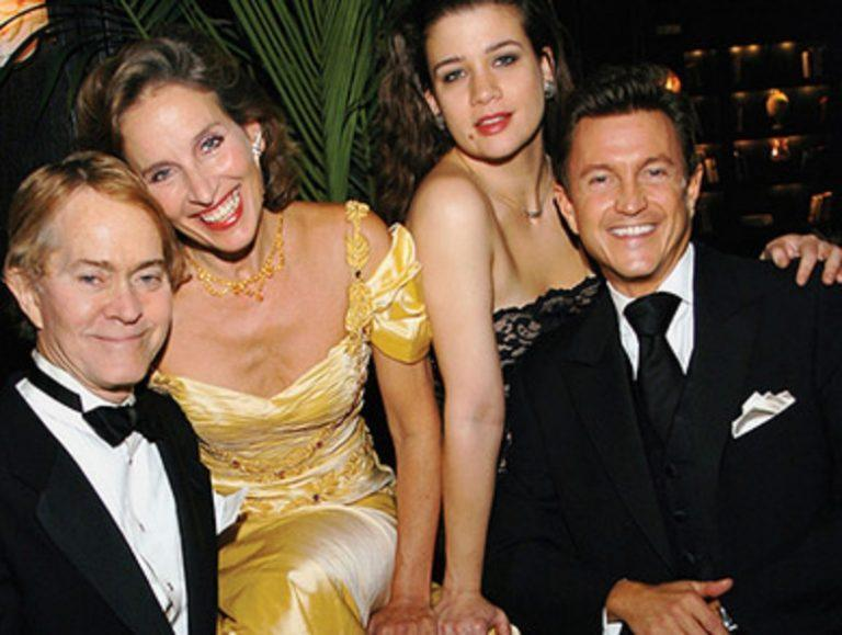 Steve Ross with fellow cabaret stars Andrea Marcovicci, Maude Maggart, and Jeff Harnar (
