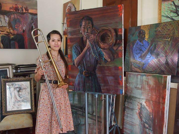 83dcd571f82d0f818ee5c4d0e364bca5 - Haruka Kikuchi: Queen of the Tailgate Trombone