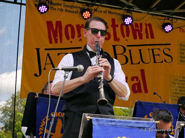 Dan Levinson 2017 - Morristown NJ Hosts 7th Annual Free Jazz & Blues Fest