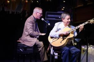 "Mark Shane sings ""Buddy Bolden's Blues"" as James Chirillo accompanies."