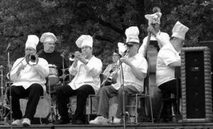 Ragtime Rick Grafing and the Chefs of Dixieland