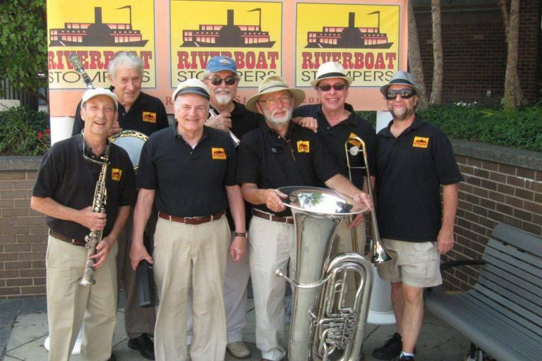 Riverboat Stompers 2016 768x512 - Boston's Riverboat Stompers Ship Out with JazzSea