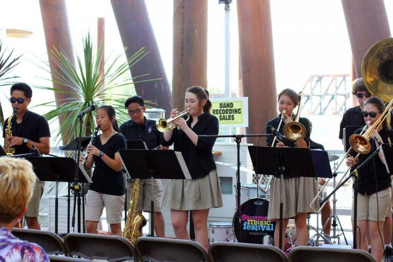 Sacramento Music Festival Next Generation Youth Band 768x512 - The former Sacramento Traditional Jazz Society Foundation has a new name.