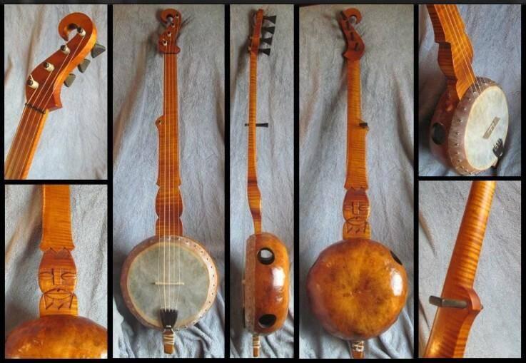 Bell Gourd Banjo