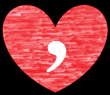 love comma - Love and the Single Factotum