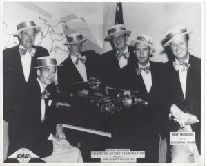 Rosy McHargue and his Dixieland Band in 1953