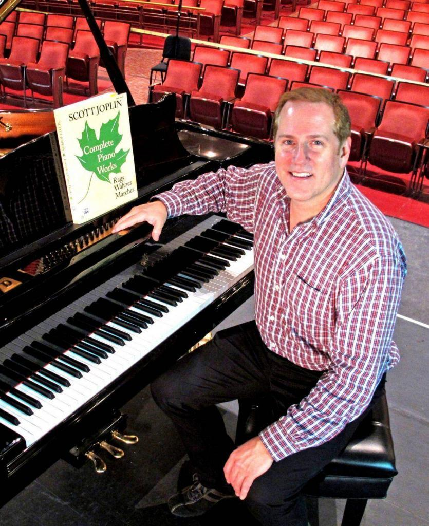 Richard Dowling to perform the Complete Piano Works of Scott Joplin at Carnegie's Weill Hall