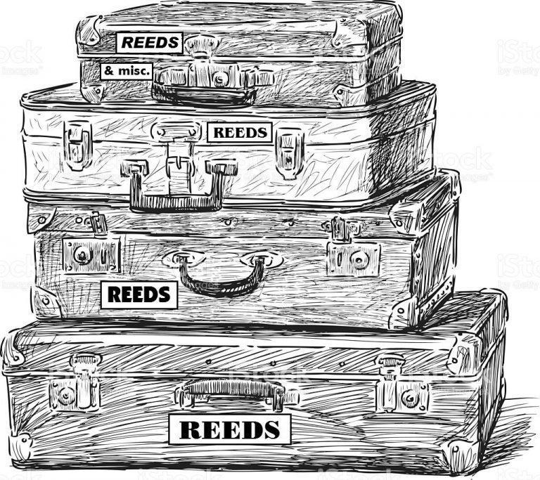 Reed Suitcases1 768x683 - How to Pack for a Tour
