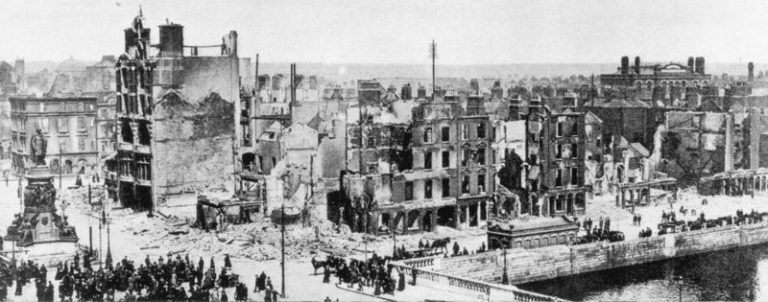 Easter Rising 1916 e1562380295894 768x302 - Looking Back at. . .1916?