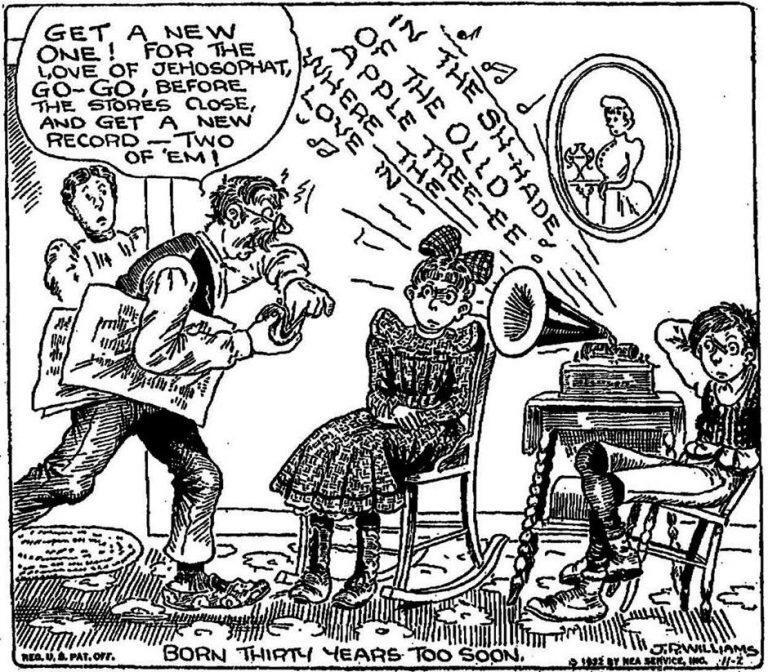 J R Williams 1932 Out Our Way phonograph