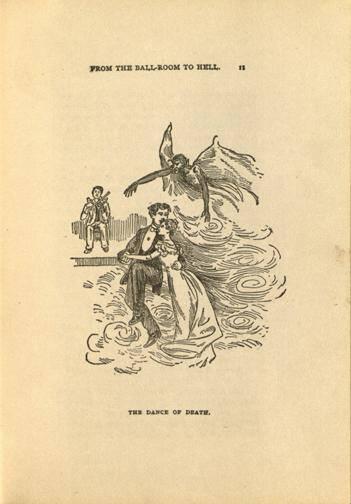 From the Ballroom to Hell (1894 Cartoon)
