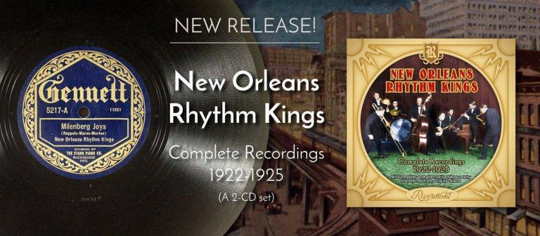 New Orleans Rhythm Kings Restored by Rivermont