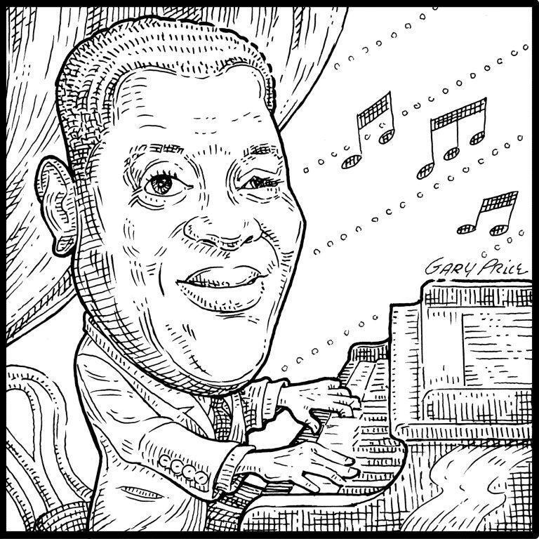 Art Tatum by Artistgaryprice.com