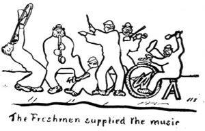 Freshmen Supplied the Music crop 300x191 - Cartoons January 2019