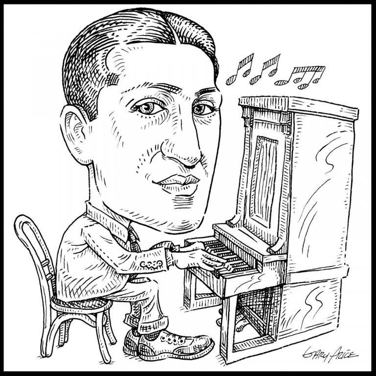 George Gershwin by ArtistGaryPrice.com
