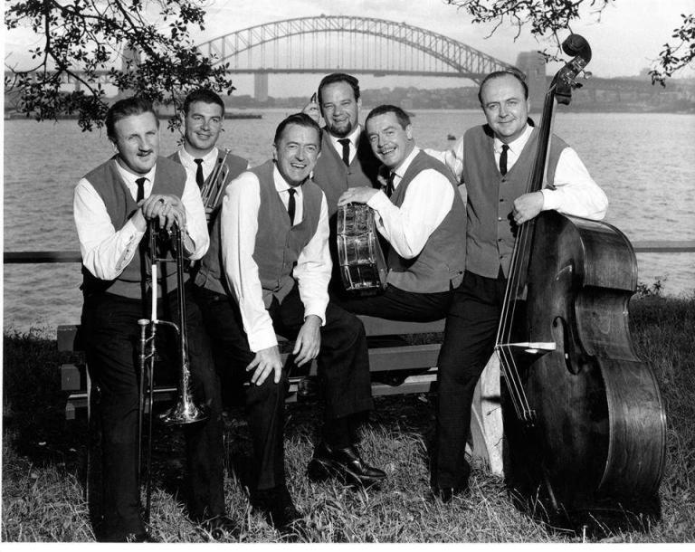 Harry Harman with the Graeme Bell All Stars 1960s. 768x610 - Harry Harman, Australian Gentleman of Jazz, Dies at 91