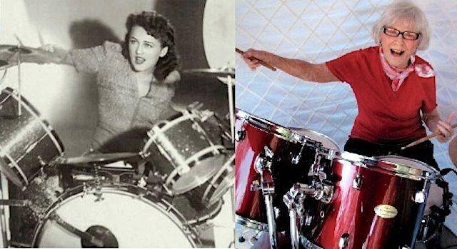 Viola image1 - Viola Smith's Century in Music- An Interview with the World's Oldest Drummer.