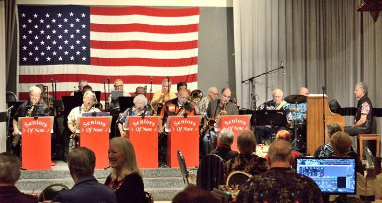 Seniors of Note Big Band Celebrates 27 Years
