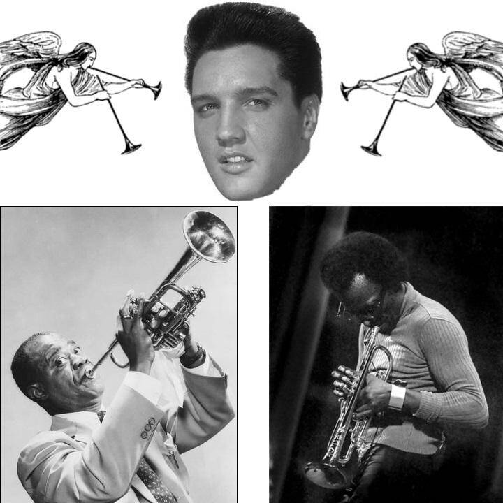 Louis Miles Elvis angels - The War Between Trad and Modern Jazz