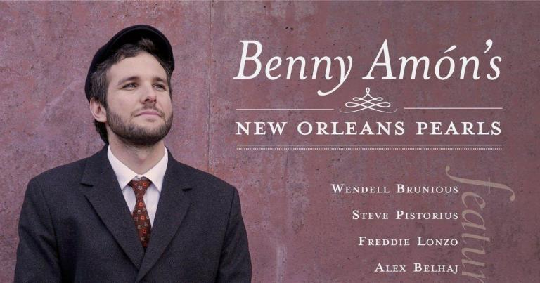 Benny Ammon New Orleans Pearls album cover crop