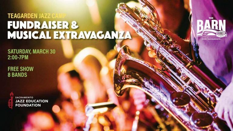Jazz Camp Fundraiser 768x432 - Don't Miss the Teagarden Jazz Camp Fundraising Extravaganza