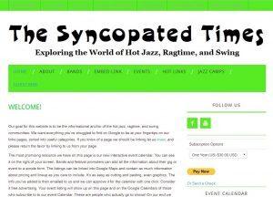 Happy Birthday Syncopatedtimes.com!