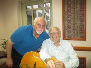 Bucky and Russ Kassoff 1 300x225 - Bucky Pizzarelli on the Mend