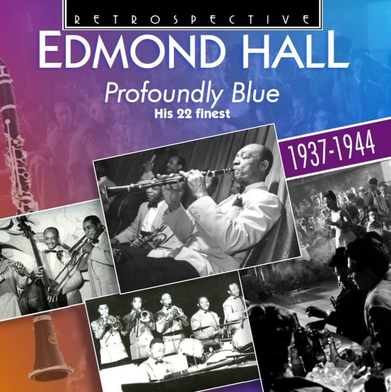 Edmond Hall Profoundly Blue album cover