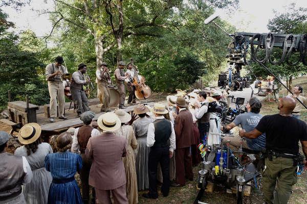 Filming the Bolden Movie Trailer Scene